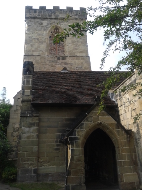 Entrada da Igreja da Santíssima Trindade