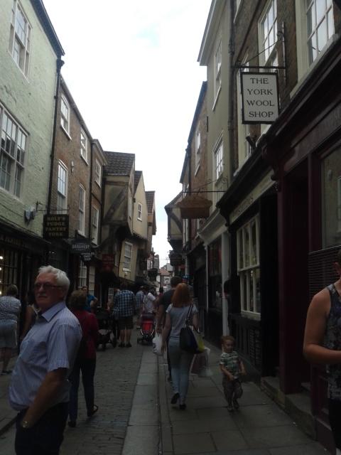Rua mais famosa de York: Shamble st