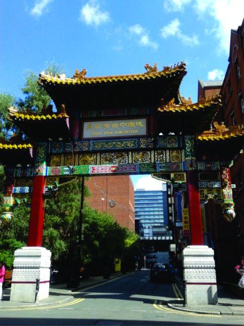 Portal de entrada de Chinatown