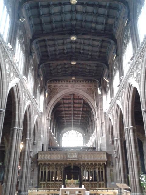 Catedral de Manchester por dentro