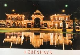 Cartão-postal de Fabi Ferragut em Copenhague - Dinamarca (jan/2017)