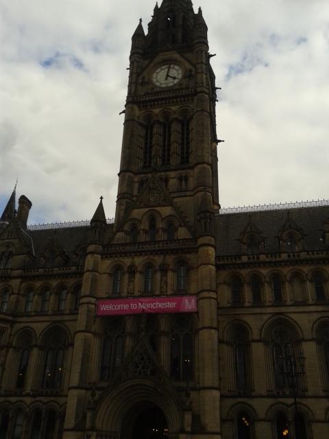 Town Hall - A sede da Prefeitura de Manchester