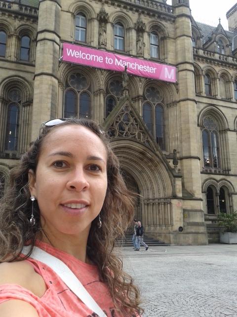 A Prefeitura dando às boas vindas a Manchester!