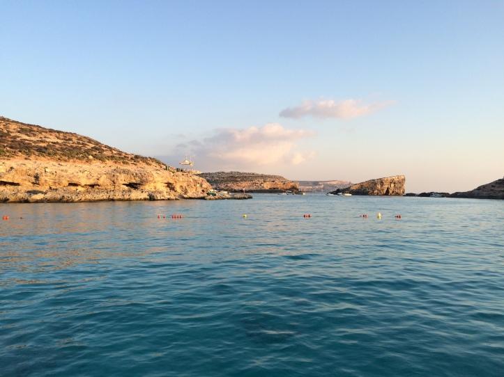 Fim de tarde em Blue Lagoon - Ilha de Comino