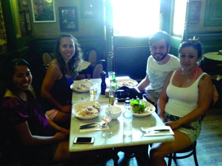 Almoço no Café Jubilee em Victoria (Ilha de Gozo)