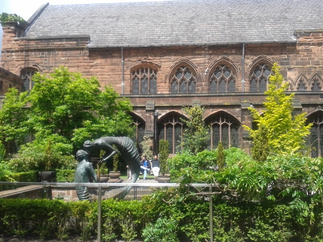 Pátio Catedral chester