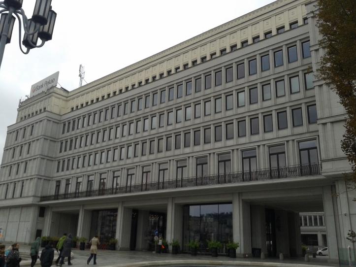 Antiga sede do Governo Comunista