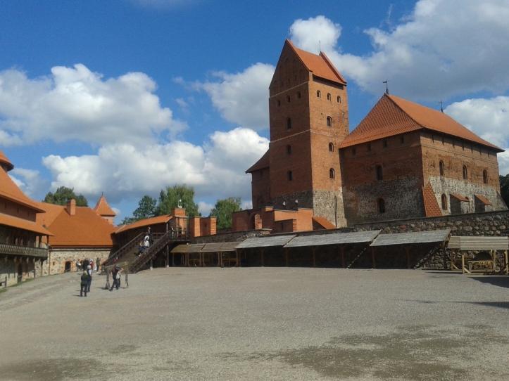 O Castelo de Trakai por dentro