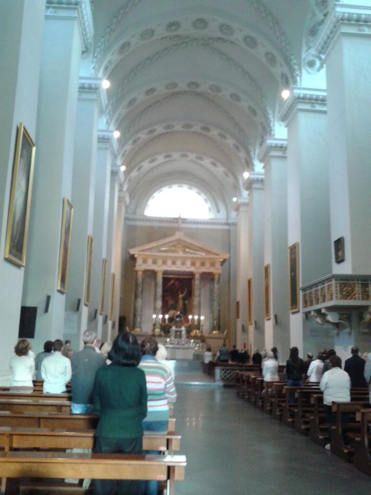 A Catedral por dentro!