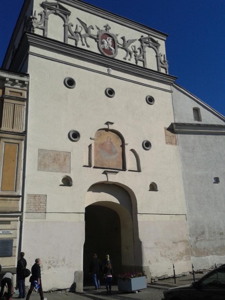 Gates of Dawn - um dos acessos ao centro histórico de Vilnius
