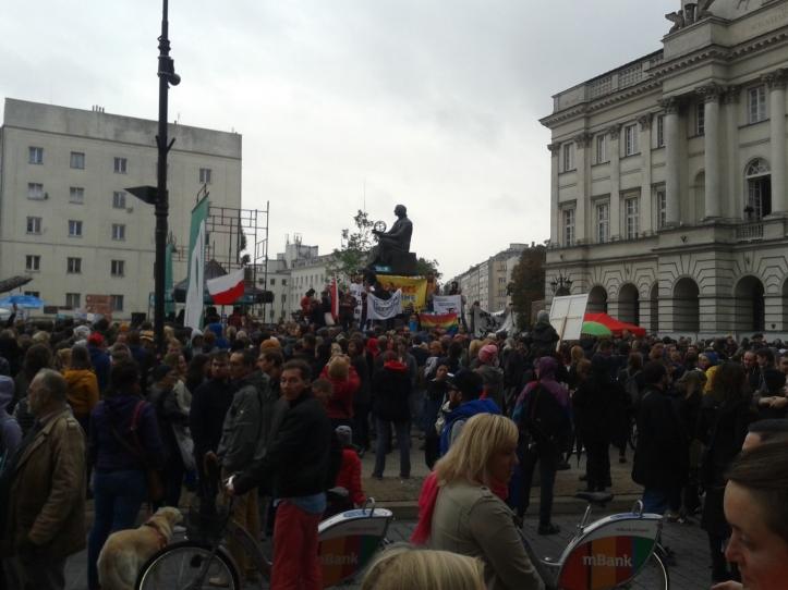 Manifestação pró-refugiados