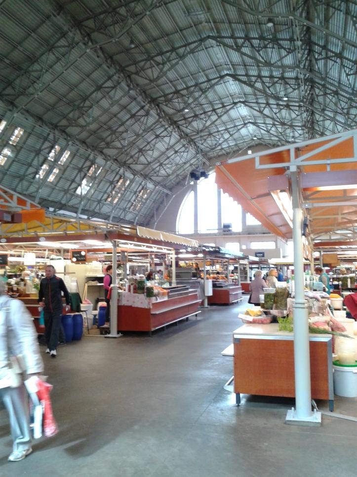 Mercado Central de Riga por denro