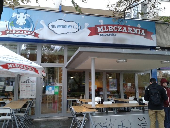 Milk Bar - típica cantina polonesa