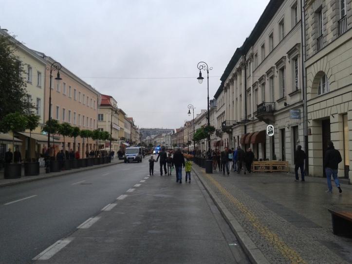 Nowy Swiat - rua que foi totalmente reconstruída após a 2ª Guerra Mundial