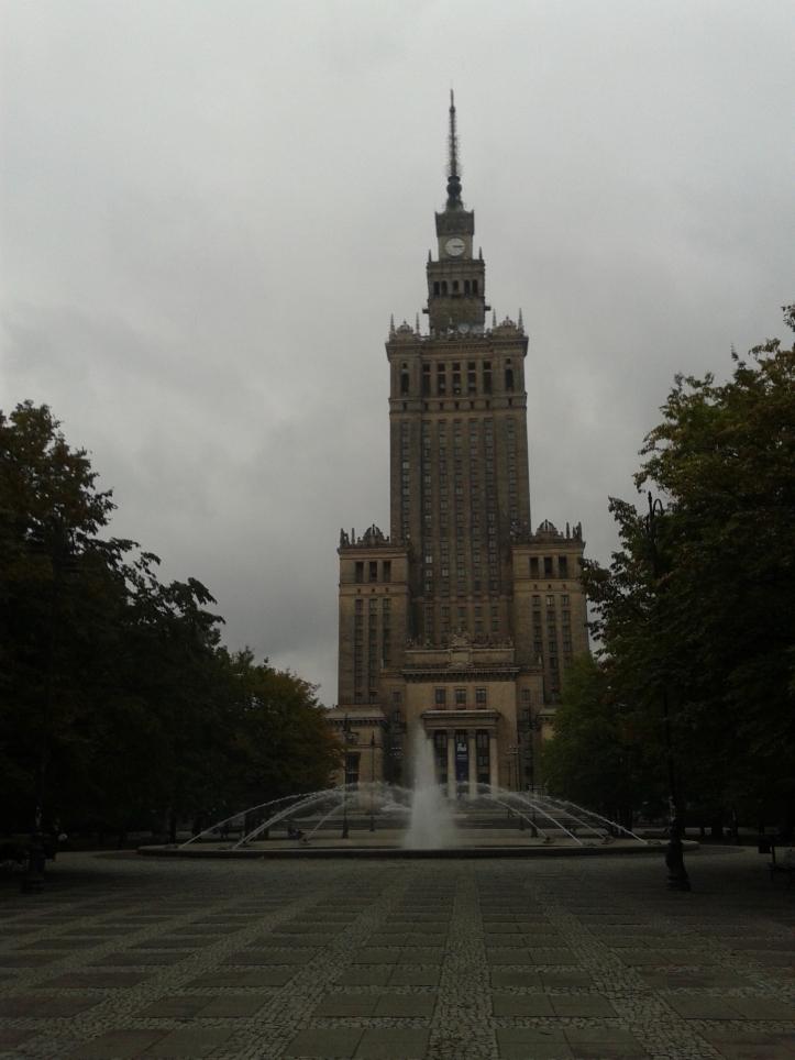 """Mais um """"bolo de Stalin"""" - Palácio da Cultura e da Ciência"""