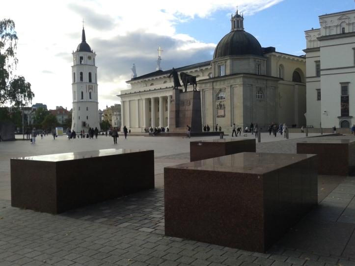 Praça da Catedral de Vilnius