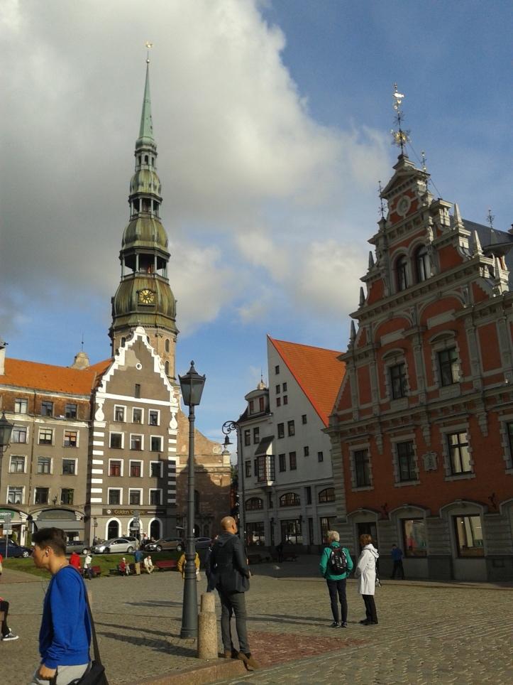 Praça da Prefeitura de Riga