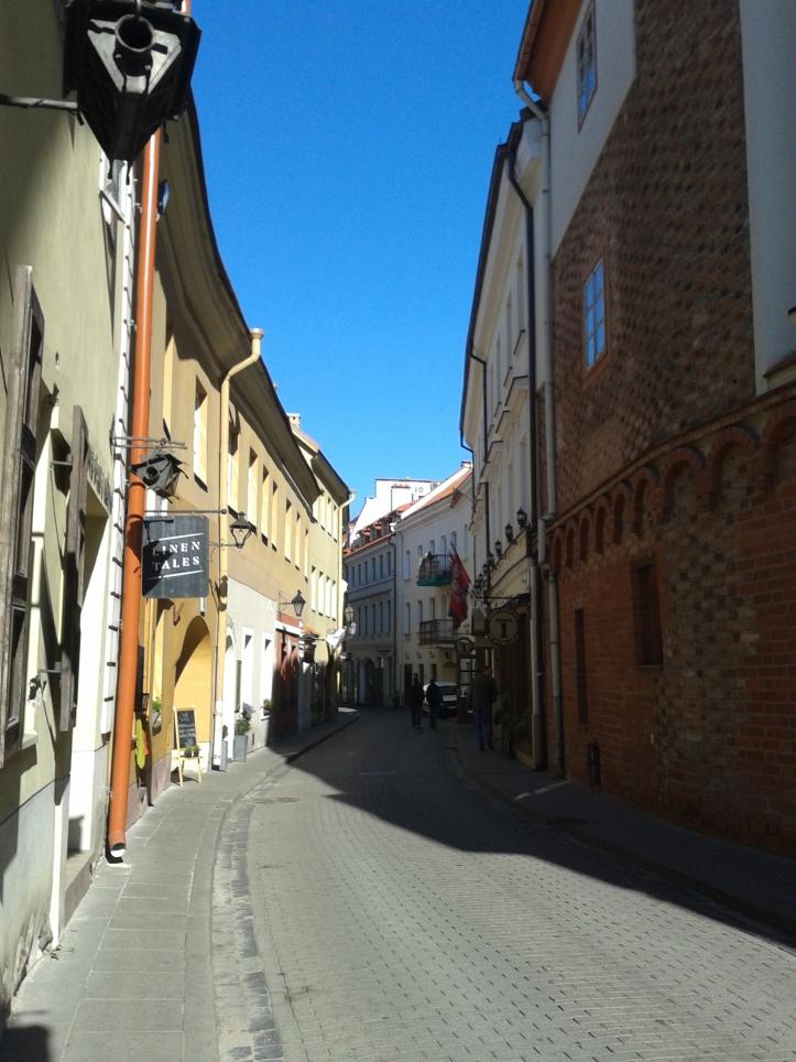 Antigo gueto judeu - rua Stikliu