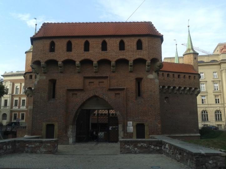 Barbican, onde era feita a proteção da Cracóvia Medieval