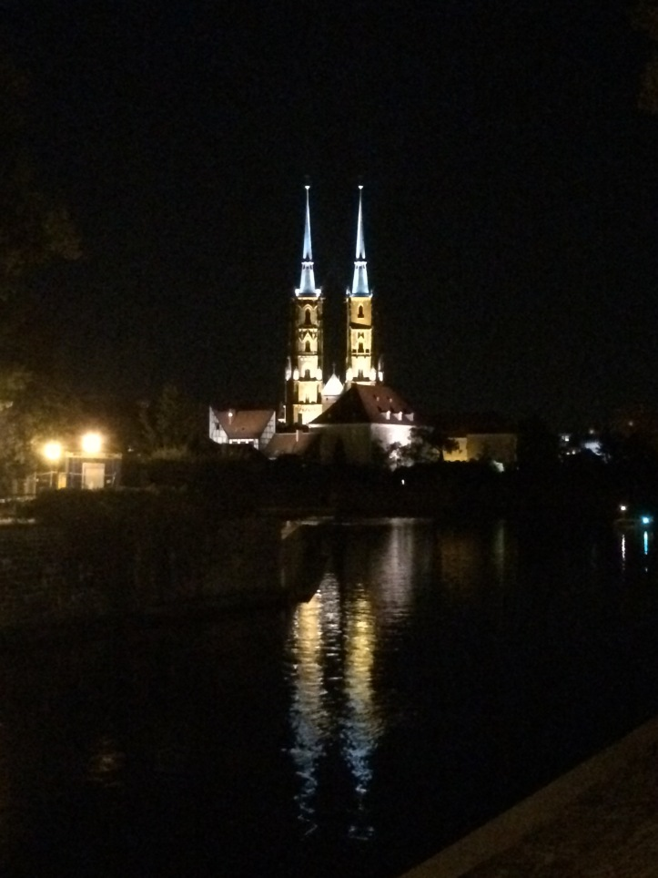 Catedral vista de longe