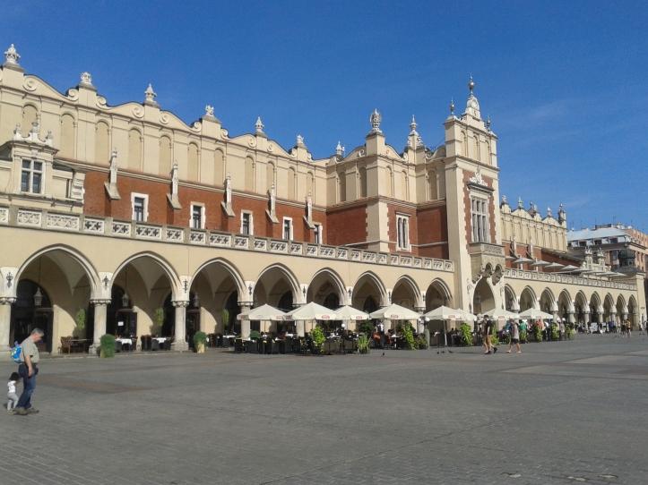 Mercado da praça central, hoje com artesanatos e restaurantes