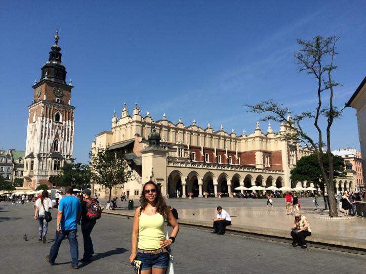 Praça central do mercado