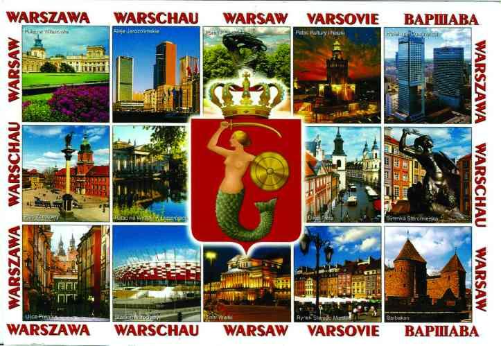 Varsóvia_postal frente
