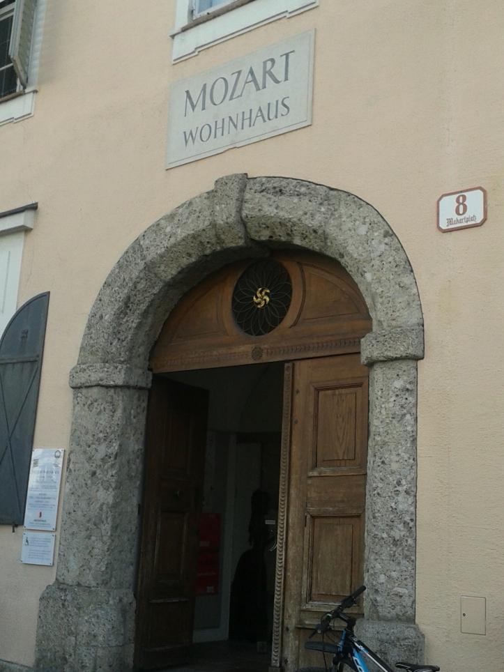 Museu Mozart na casa onde o compositor morou