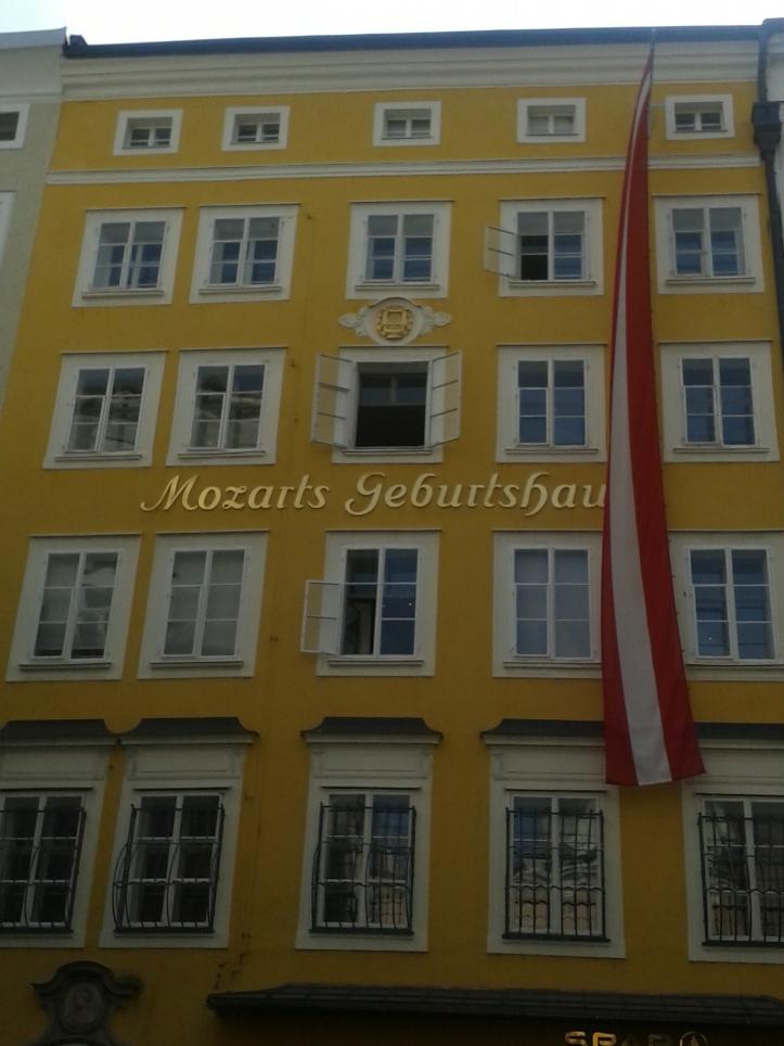 Casa onde Mozart nasceu
