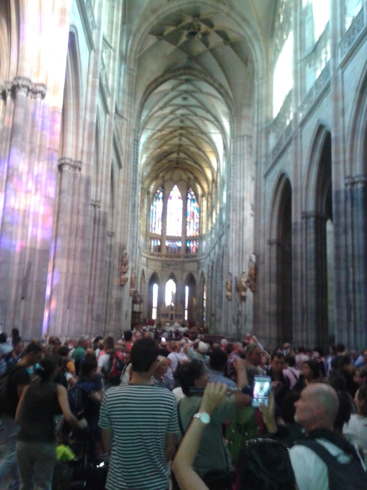 Interior da Catedral de Praga