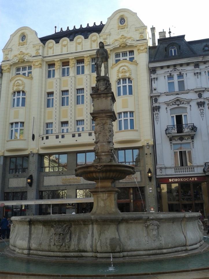 Fonte em frente à Prefeitura
