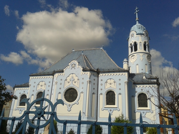 Igreja Azul por fora