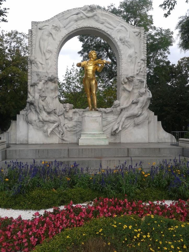 Monumento a Johann Strauss no Stadtpark