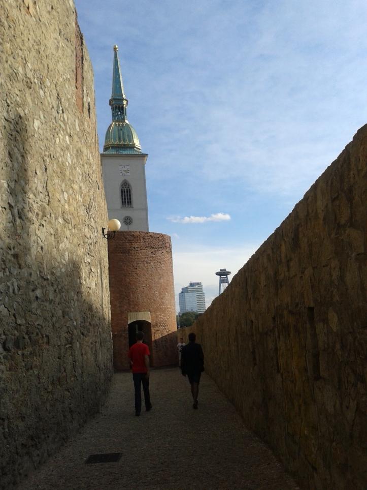 Muralha da antiga cidade medieval