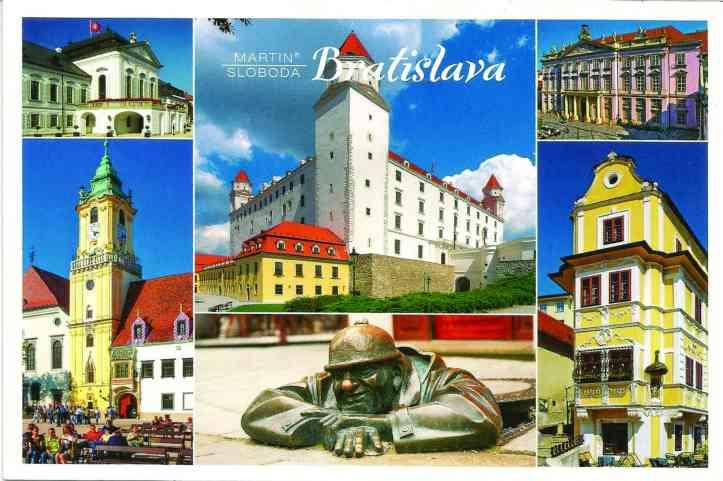 Postal Bratislava frente