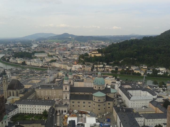 Impressionante como a cidade fica mais linda ainda do alto!