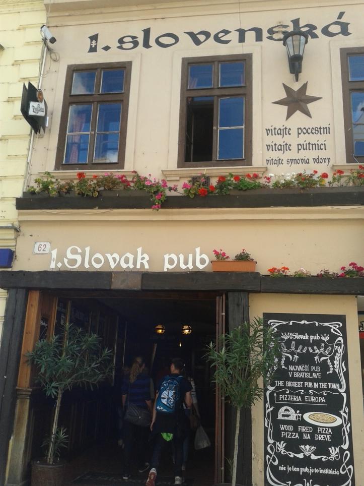 Slovak Pub - comida típica e com ótimo preço