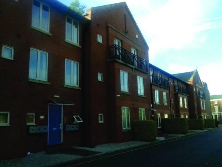 Fachada do prédio onde morava - L8 Toxteth Liverpool