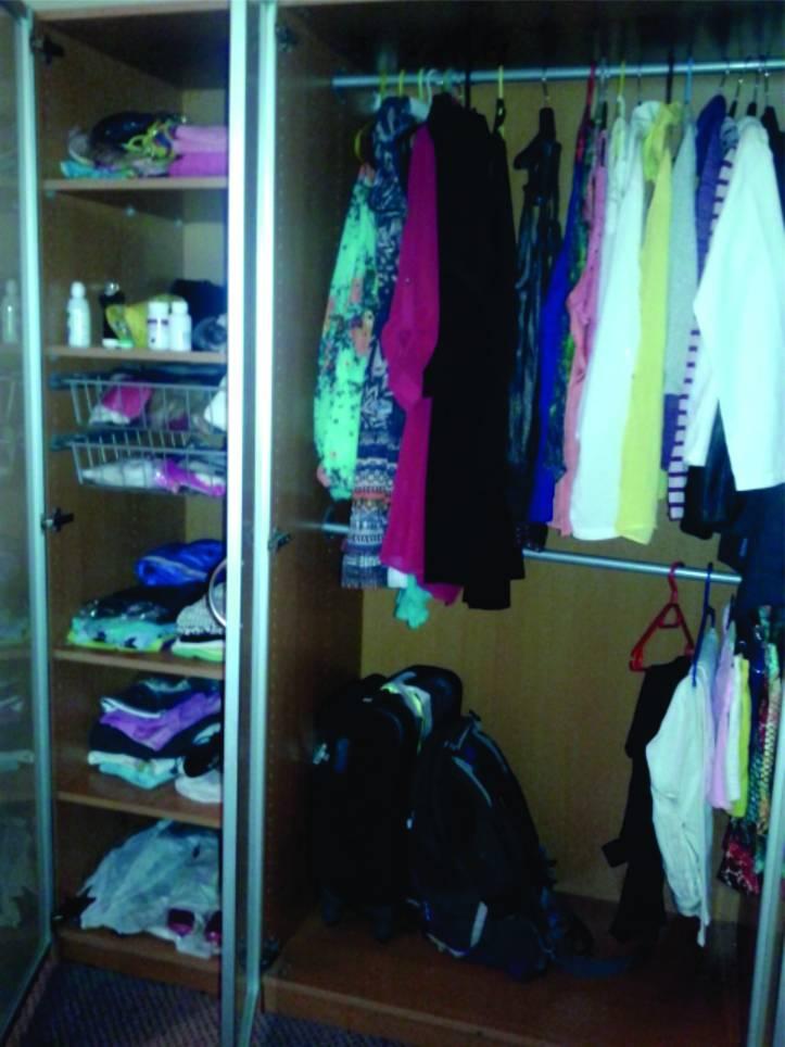Meu adorado guarda-roupas!