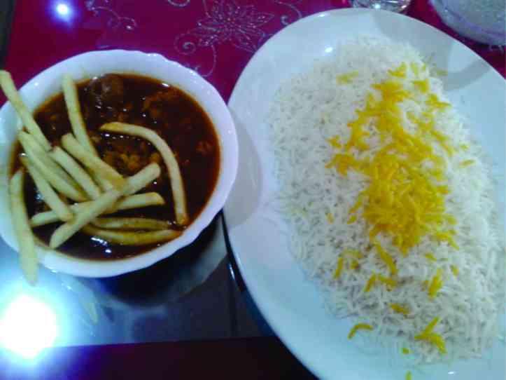 Para mim, o melhor custo benefício: comida persa no restaurante Zagros