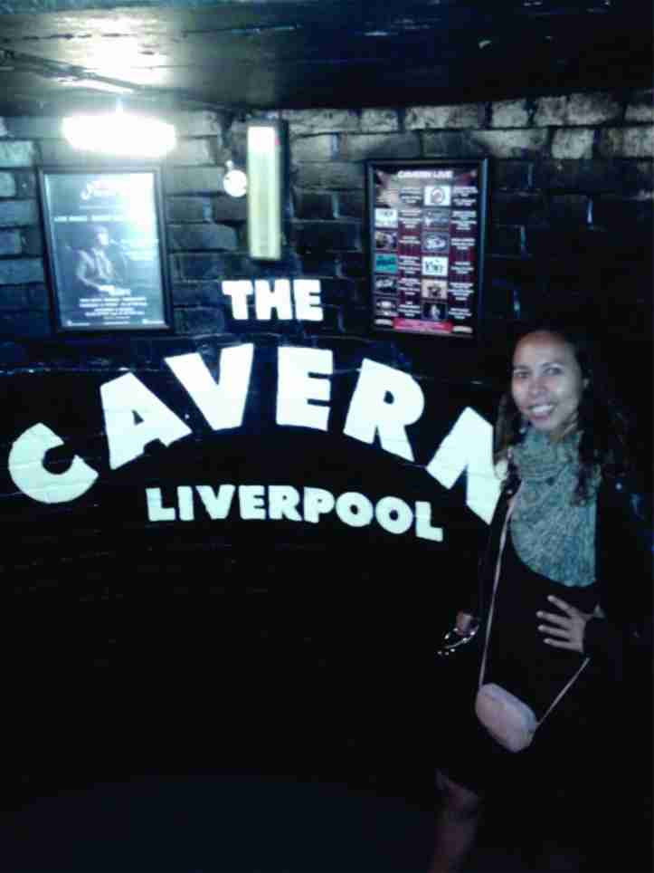 "Curtindo a ""domingueira"" no Cavern Club!"
