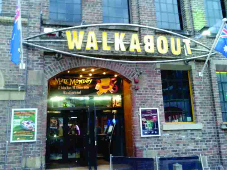 Walkabout - bar australiano