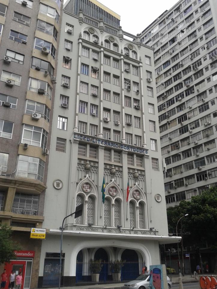 Biblioteca Liceu no Centro do Rio