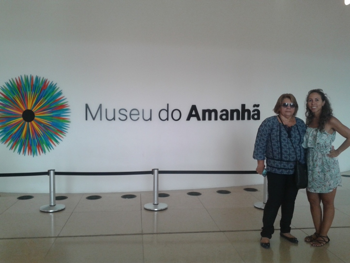 Hall de entrada do Museu do Amanhã