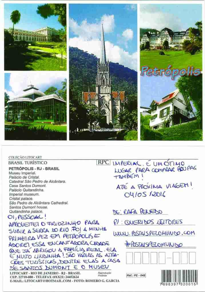 Postal Petrópolis