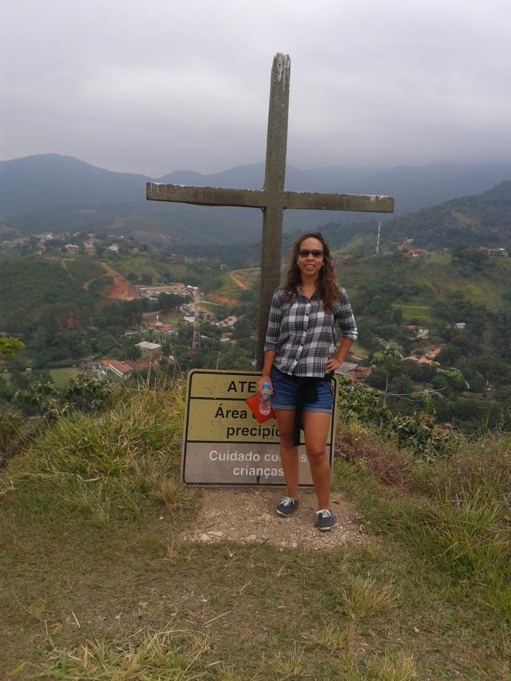 Cruzeiro no alto do Pico do Penedinho