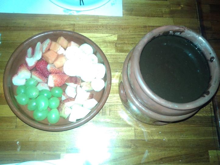 Sobremesa do rodízio de fondue do Krokodillo