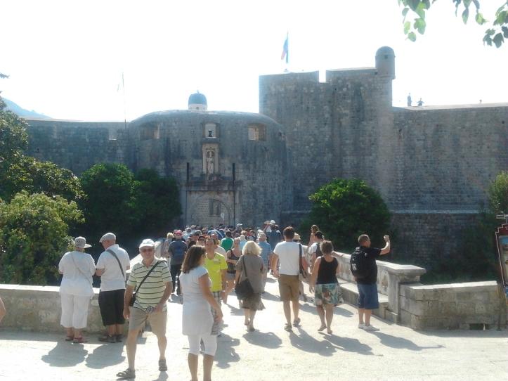Acesso à Cidade Velha de Dubrovnik