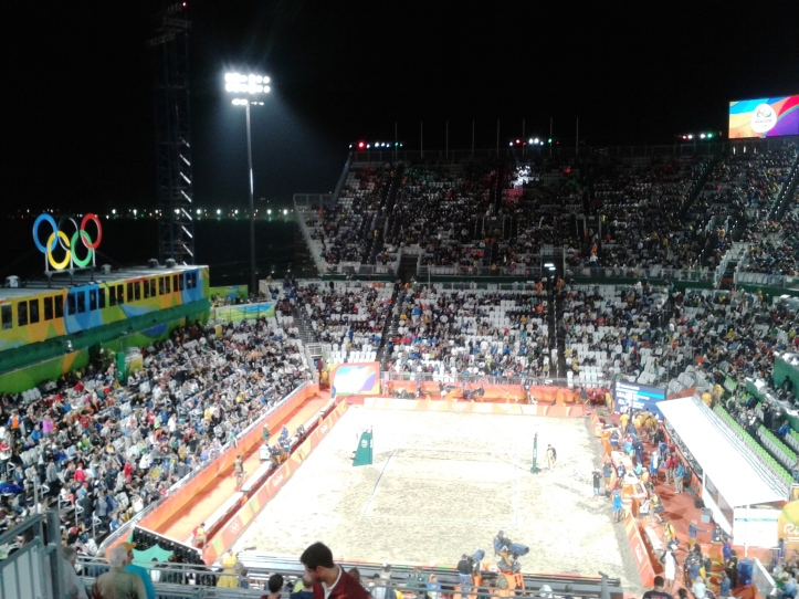 Arena de Vôlei de Praia em Copacabana