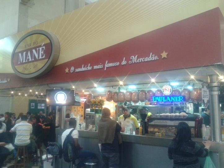 Bar do Mané no Mercado Municipal de São Paulo
